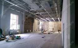 Монтаж 2000 квадратных метров ГКЛ - перегородок.